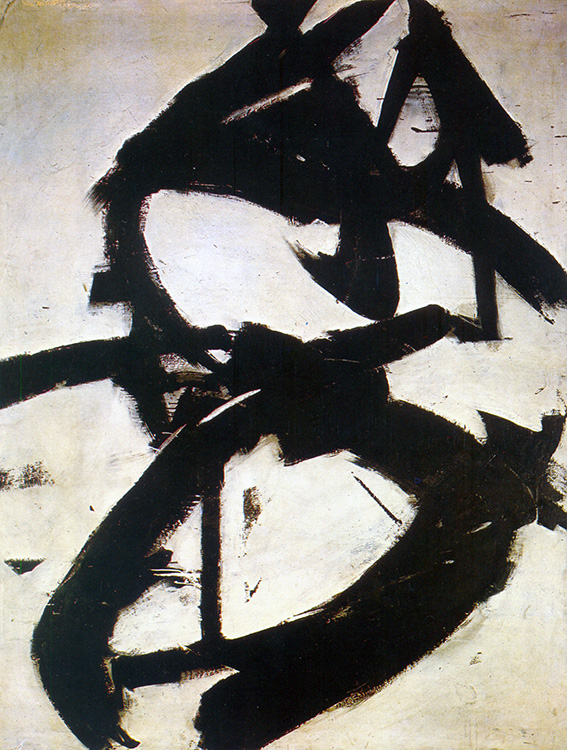 kline, franz, figure eight, 1952
